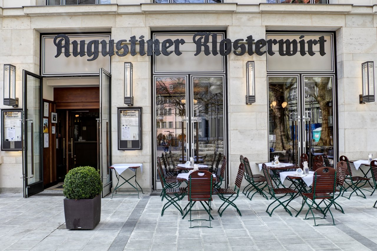 augustiner br u m nchen restaurants. Black Bedroom Furniture Sets. Home Design Ideas